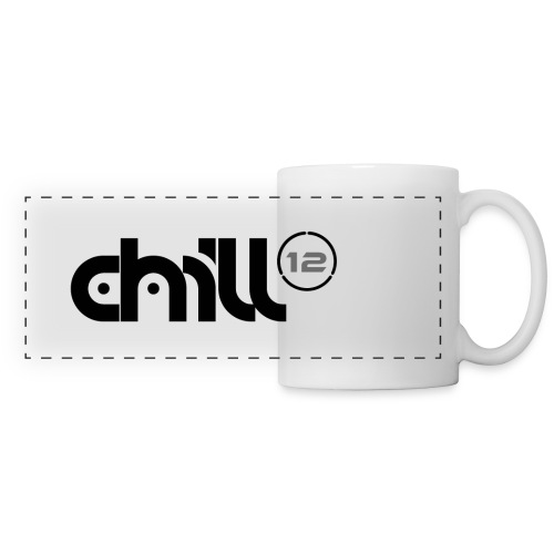 12 Wordmark 12 Number Ring Black png - Panoramic Mug