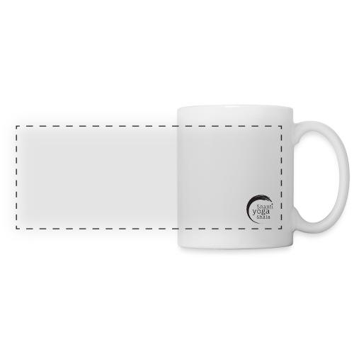 logo mathilde grand png - Mug panoramique contrasté et blanc
