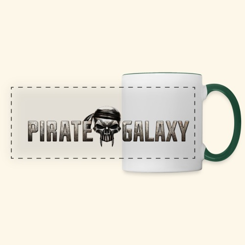 Pirate Galaxy Logo New - Panoramic Mug