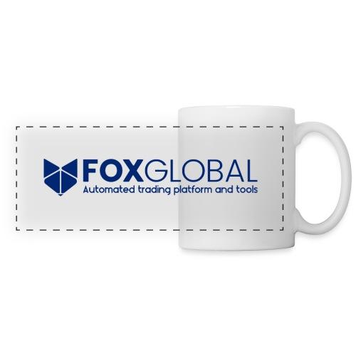 Logo unicolor hor - Panoramic Mug