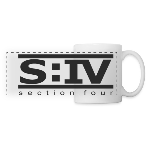 section iv black png - Panoramic Mug