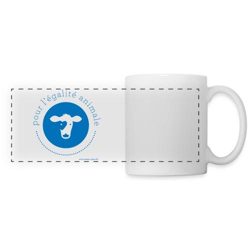 logo pea pr sac - Mug panoramique contrasté et blanc