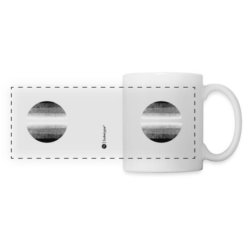 Faisceau lunaire - Mug panoramique contrasté et blanc