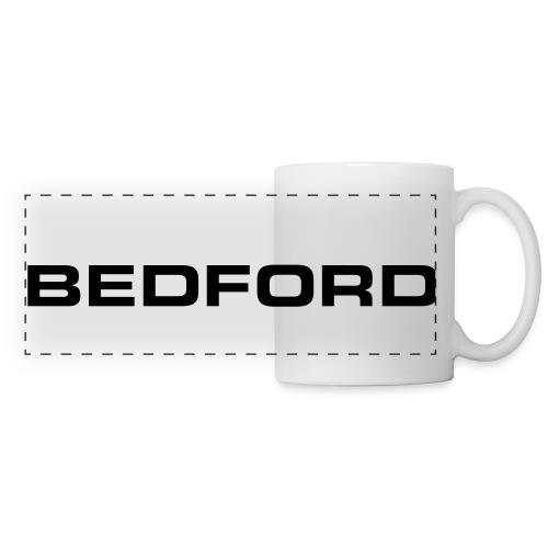 Bedford script emblem - Autonaut.com - Panoramic Mug