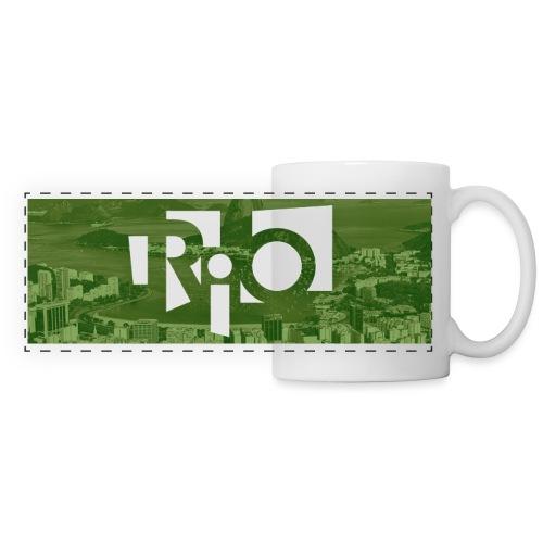 Rio - Mug panoramique contrasté et blanc