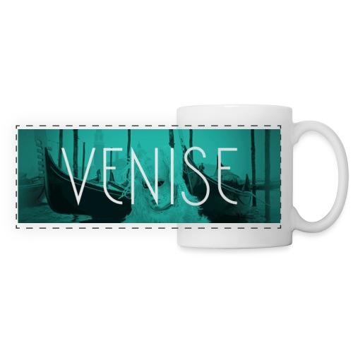 Venise - Mug panoramique contrasté et blanc