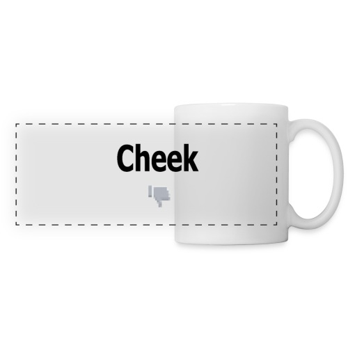 cheek sucks png - Panoramic Mug
