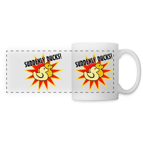 Suddenly Ducks! Mug - Panoramic Mug