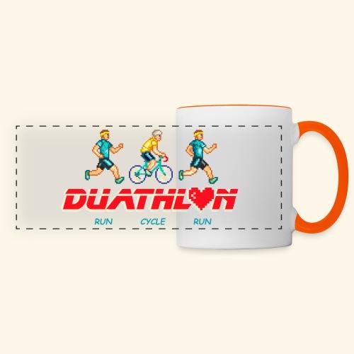 DUATHLON: RUN CYCLE RUN (MEN) - Tazza con vista