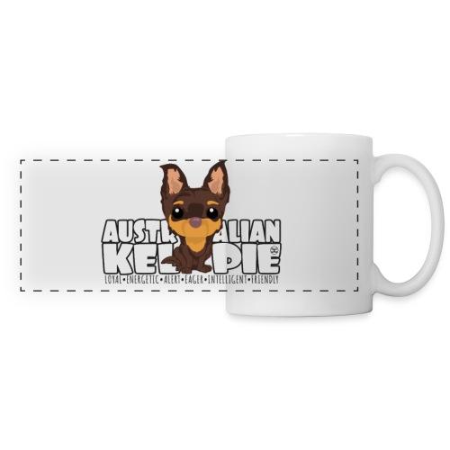 Kelpie - DGBigHead | mug - Panoramic Mug