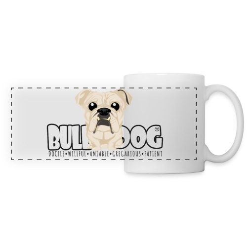 Bulldog - DGBighead (Fawn) - Panoramic Mug
