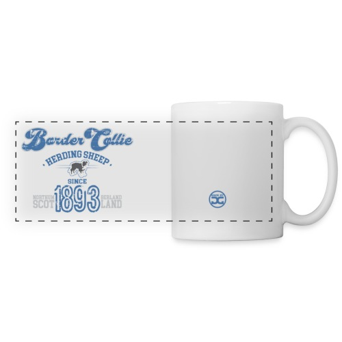 Border Collie - Since1893 | mug - Panoramic Mug