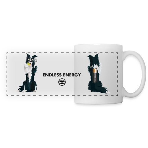 Bordercoll - EndlessEnergy | mug - Panoramic Mug