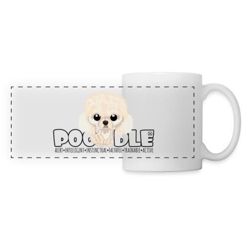 Poodle (Apricot) - DGBigHead   mug - Panoramic Mug