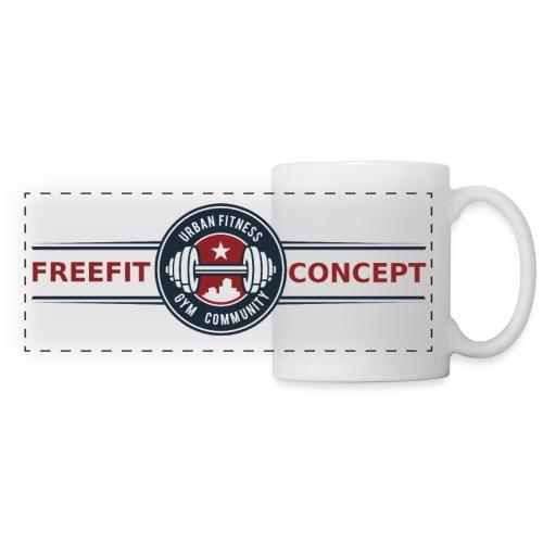 FFC_logo_standard_trans - Mug panoramique contrasté et blanc