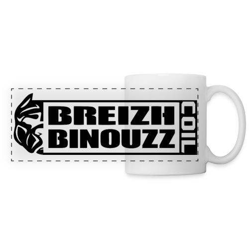 BREIZH B COIL - Mug panoramique contrasté et blanc