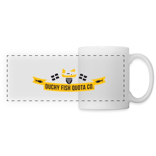 DFQC_Logo_Black_Bkgd - Panoramic Mug