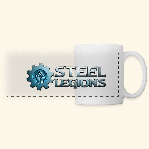 Steel Legions Logo - Panoramic Mug