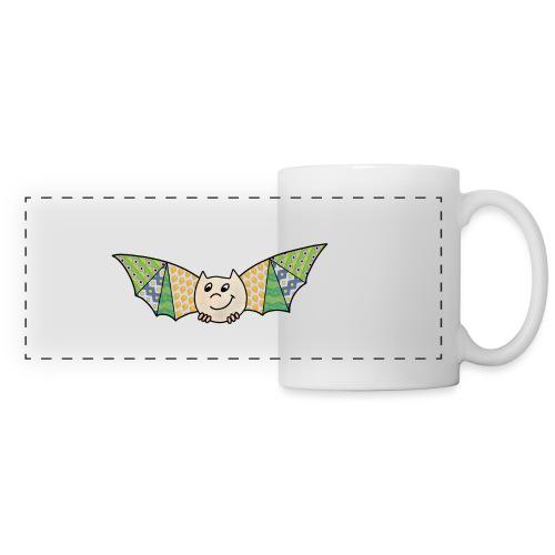 patchwork bat - Panoramic Mug