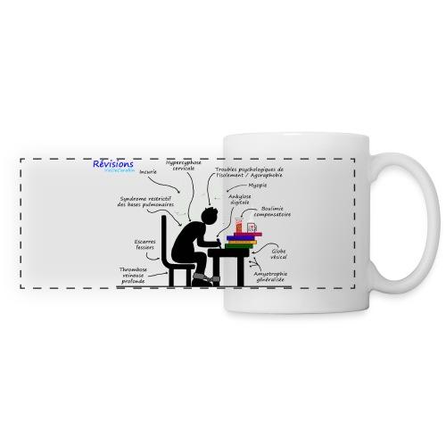 Revisions2 - Mug panoramique contrasté et blanc