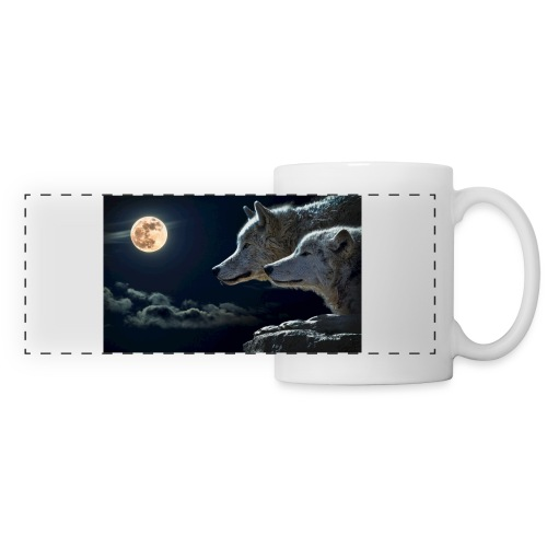 wolf - Mug panoramique contrasté et blanc