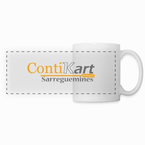 ContiKart Follower - Mug panoramique contrasté et blanc