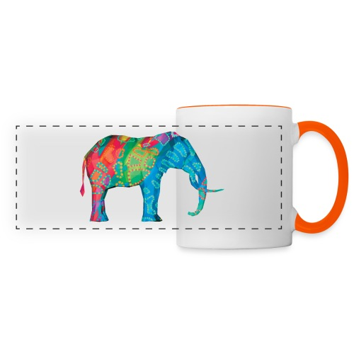 Elefant - Panoramic Mug