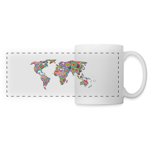 Hipsters' world - Panoramic Mug