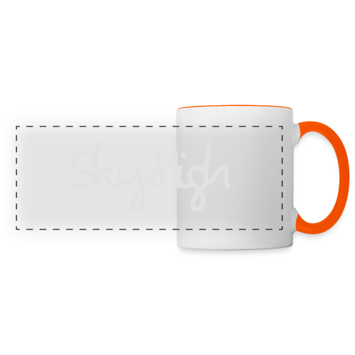 SkyHigh - Bella Women's Sweater - Light Gray - Panoramic Mug