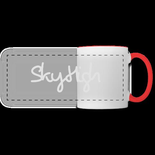 SkyHigh - Bella Women's Sweater - Light Gray - Panoramic Mug
