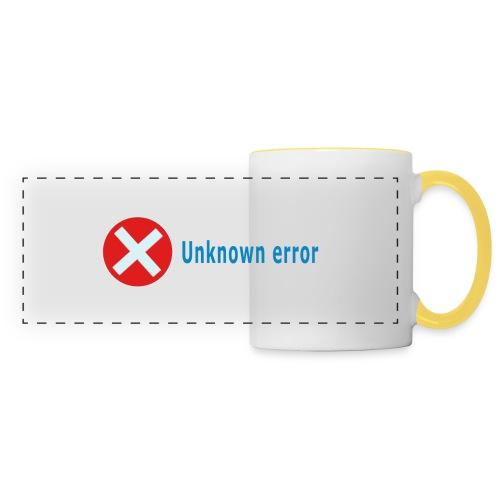 Unkown Error - Panoraamamuki