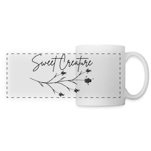 Sweet Creature - Mug panoramique contrasté et blanc