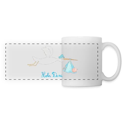 Hola Dani - Mug panoramique contrasté et blanc