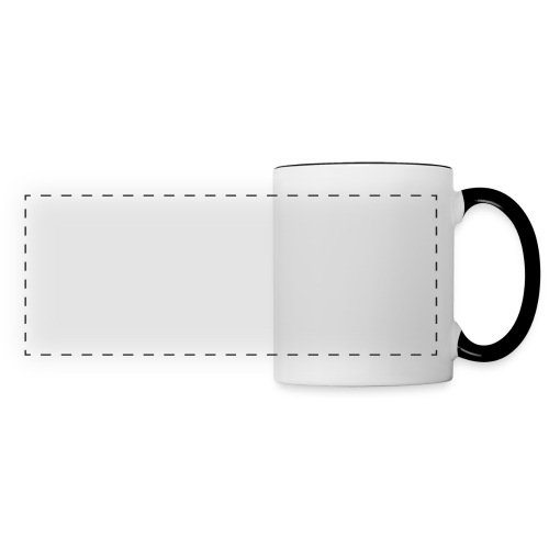 ManigProductions White Transparent png - Panoramic Mug