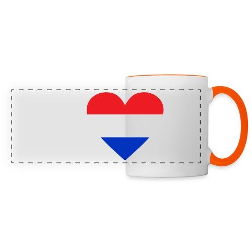 Ik hou van Nederland | Hart met rood wit blauw - Panoramamok