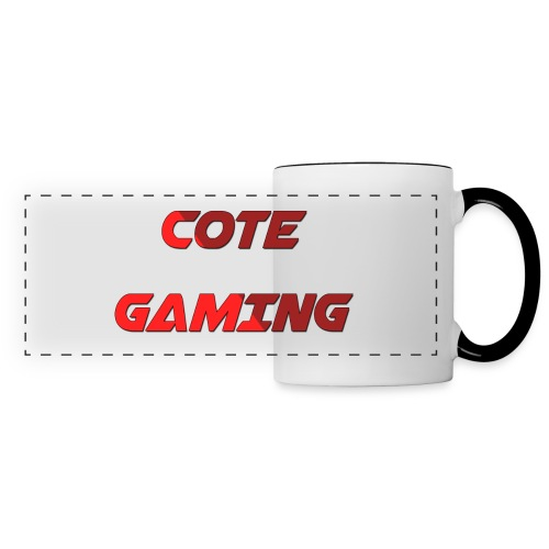 Cote Sweater Rode Letters - Panoramic Mug
