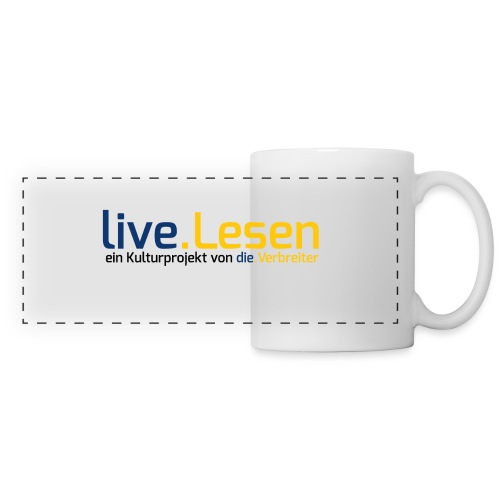 live.Lesen Logo - Panoramatasse