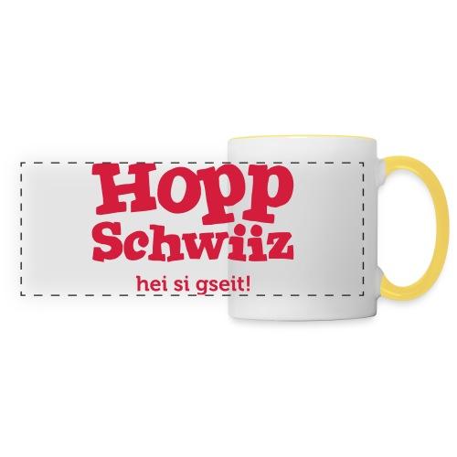 Hopp-Schwiiz hei si gseit - Panoramatasse
