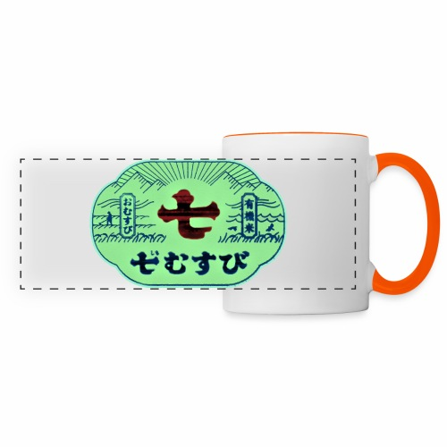 CHINESE SIGN DEF REDB - Mug panoramique contrasté et blanc
