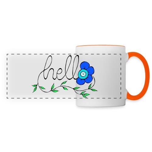 Hello Blume. - Panoramatasse