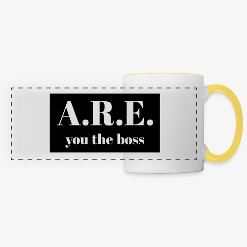 AREyou the boss - Panoramic Mug