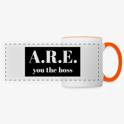 AREyou the boss - Panoramic Mug
