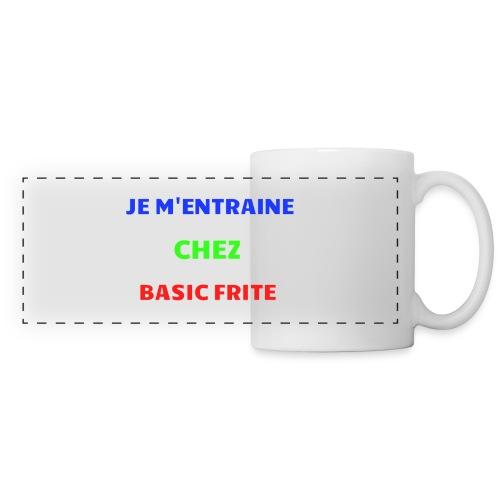 Basic Frite - Mug panoramique contrasté et blanc