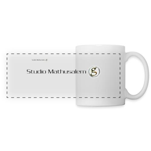 Logo Studio Mathusalem 2 - Mug panoramique contrasté et blanc