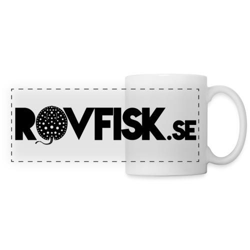 Rovfisk.se, logga, raster - Panoramamugg