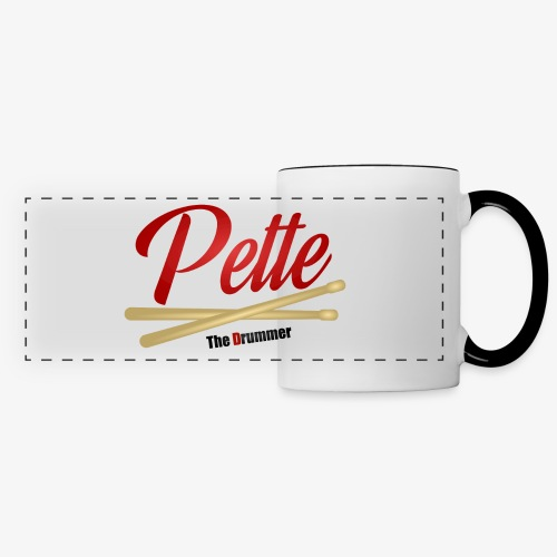 Pette the Drummer - Panoramic Mug