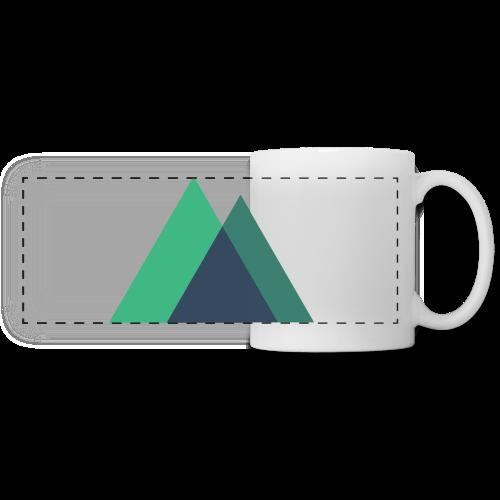 Mountain Logo - Panoramic Mug