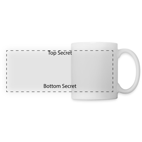 Top Secret / Bottom Secret - Panoramic Mug