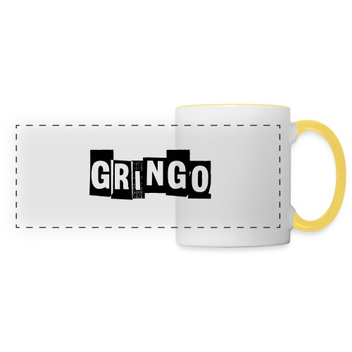 Cartel Gangster pablo gringo mexico tshirt - Panoramic Mug
