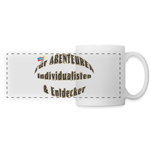 Abenteurer Individualisten & Entdecker - Panoramatasse
